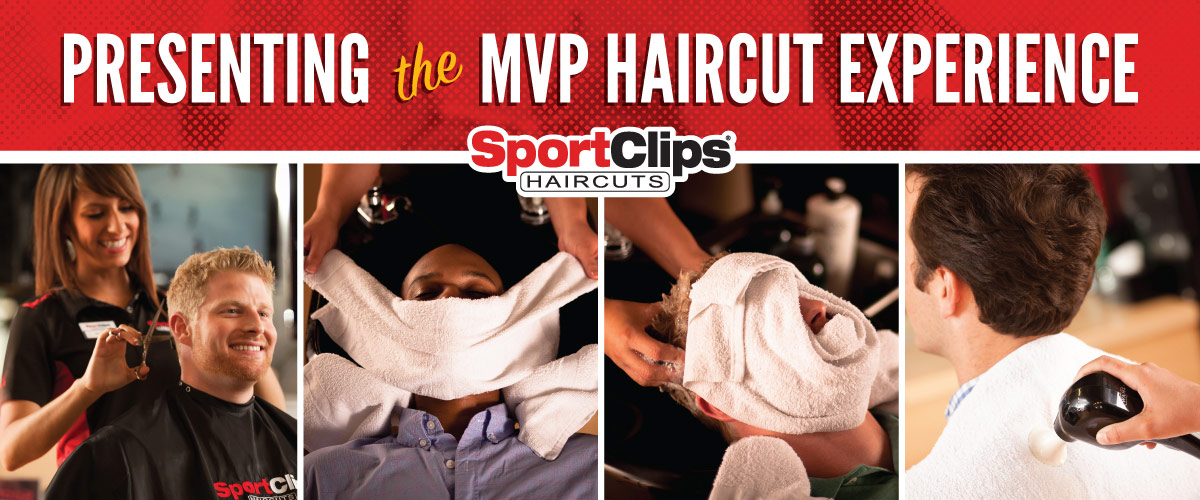 The Sport Clips Haircuts of Springfield Plaza MVP Haircut Experience